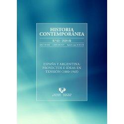 LIBURUA HISTORIA CONTEMPORÁNEA Nº63 (2020)