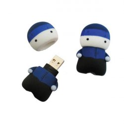 MEMORIA USB 8 GB DOCTOR/A HONORIS AZUL  UPV/EHU