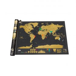 SCRATCH MAP LUCKIES