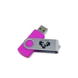 MEMORIA USB 4GB FUCSIA UPV/EHU
