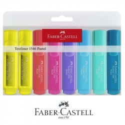PACK 8 MARCADORES PASTEL  FABER-CASTELL