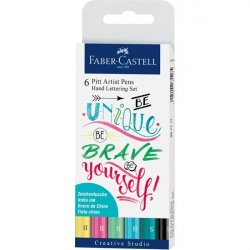 PACK 6 ROTULADORES HAND LETTERING  FABER-CASTELL