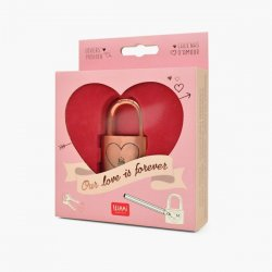 OUR LOVE IS FOREVER LOVERS` PADLOCK CANDADO
