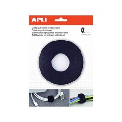 RECOGE CABLE GANCHO/BUCLE 10 x 15MM APLI