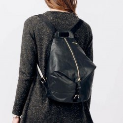 MOCHILA SISO PATENT COLLECTION COLOR NEGRO SKFK