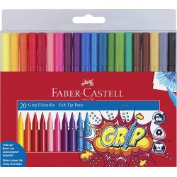 20 ROTULADORES GRIP FABER-CASTELL
