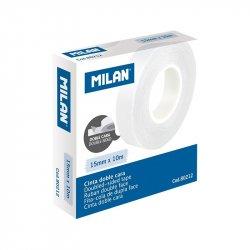 CINTA ADHESIVA DOBLE CARA MILAN 15x10mm