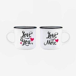ESPRESSO FOR TWO COFFEE MUG LEGAMI