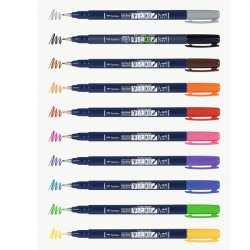 ROTULADOR FUDENOSUKE COLOR HARD TIP TOMBOW