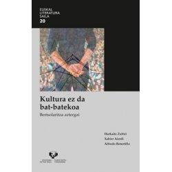 LIBURUA KULTURA EZ DA BAT-BATEKOA