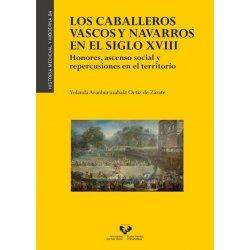 LIBURUA CABALLEROS VASCOS Y NAVARROS SIGLO XVIII